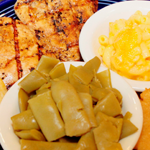 Try our grilled chicken another of The Blue Plate daily specials.