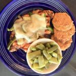 Try our smothered chicken another of The Blue Plate daily specials.